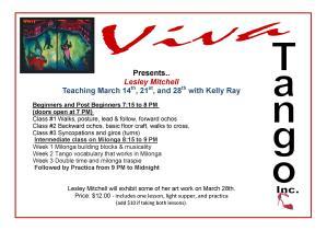 Lesleys lessons in March flyer website version