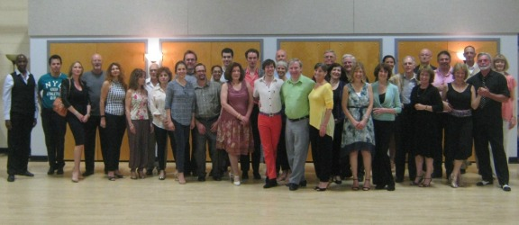 Some of the 40+ Dancers at Vals Lesson