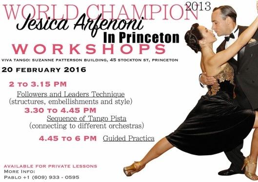 Flyer_Jesica Arfenoni in Princeton