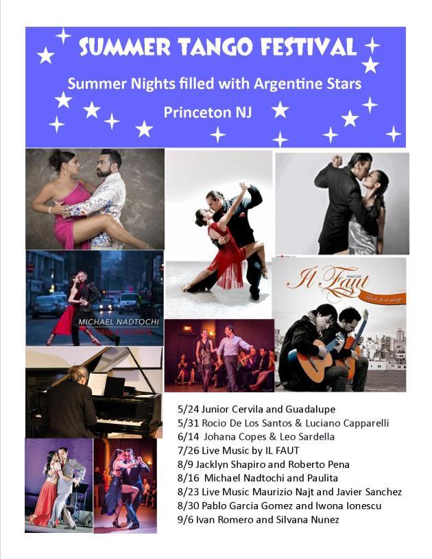 Summer Tango Festival